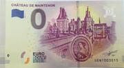 0 euro - Maintenon - Le château – obverse
