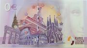 0 euro - Toulouse - La cité de l'espace – reverse