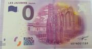 0 euro - Toulouse - Couvent Les Jacobins (Le cloître) – obverse