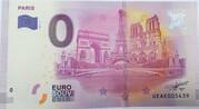 0 euro - Paris - Quatre monuments – obverse