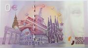 0 euro - Paris - Quatre monuments – reverse