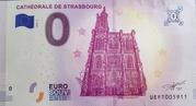 0 euro (CATHEDRALE DE STRASBOURG) – obverse