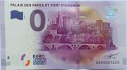 0 euro - Avignon - Palais des papes et pont d'Avignon – obverse