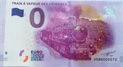 0 EURO - Anduze - Train à vapeur des Cévennes – obverse