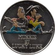 Monnaie de Paris Tourist Token - Lucky Luke (Morris et Lucky Luke) – obverse