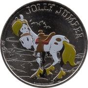 Monnaie de Paris Tourist Token - Lucky Luke (Jolly Jumper) – obverse