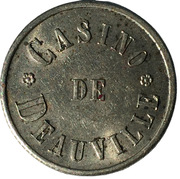 Token - Casino de Deauville – obverse