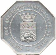 Insurance token - Cercle des Assureurs du Havre – reverse