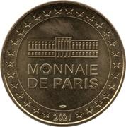 Monnaie de Paris Tourist Token - Les Schtroumpfs (Schtroumpf costaud) -  obverse