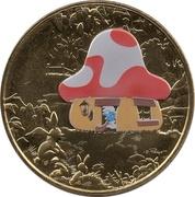 Monnaie de Paris Tourist Token - Les Schtroumpfs (Maison des Schtroumpfs) – obverse