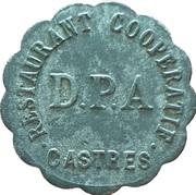 10 Centimes - Restautant Coopératif D.P.A (Castres) – obverse