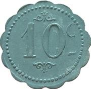 10 Centimes - Restautant Coopératif D.P.A (Castres) – reverse