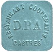 50 Centimes - Restautant Coopératif D.P.A (Castres) – obverse