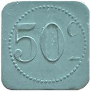 50 Centimes - Restautant Coopératif D.P.A (Castres) – reverse