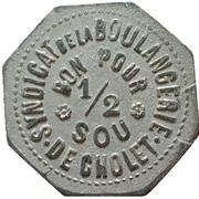 ½ Sou - Syndicat de la Boulangerie (Cholet) – obverse