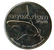 Monnaie de Paris Tourist Token - Aquarium de Paris (Le requin) – obverse
