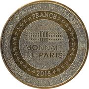 Monnaie de Paris Tourist Token - Aquarium de Paris (Le requin) – reverse