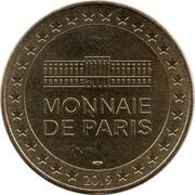 Monnaie de Paris Tourist Token - Secours Populaire Français (Comité de Meaux - 40 ans) -  obverse
