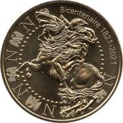 Jeton Touristique - Monnaie de Paris - Bicentenaire de la mort de Napoléon - 1821-2021 – obverse