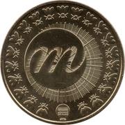 Jeton Touristique - Monnaie de Paris - Bicentenaire de la mort de Napoléon - 1821-2021 – reverse