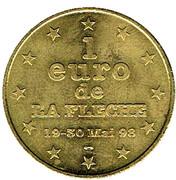 1 Euro - La Flèche (72) – reverse