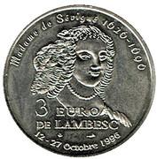 3 Euro - Lambesc (13) – obverse