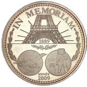 In memoriam - La pièce de l'année 2009 (argent) – obverse