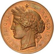 Médaille de l'Administration des Monnaies et Médailles – obverse