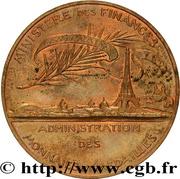 Médaille de l'Administration des Monnaies et Médailles – reverse