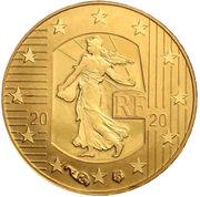 5 Euro (New franc) -  obverse