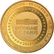 Jeton touristique - Monnaie de Paris - Arras - Grand'Place – reverse