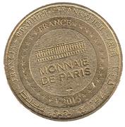 Jeton touristique - Monnaie de Paris - La Test de Buch - Dune du Pilat – reverse