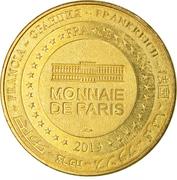 Jeton touristique - Monnaie de Paris - Brassempouy – reverse