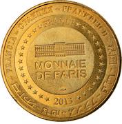 Jeton touristique - Monnaie de Paris - Moulins - Centre national du costume de scène – reverse