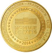Jeton touristique - Monnaie de Paris - Carennac - Site Clunisien – reverse