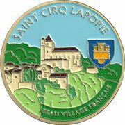 Jeton touristique - Souvenir et Patrimoine - Saint Cirq Lapopie - Beau village français – obverse