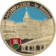 Jeton touristique - Souvenir et Patrimoine - Monpazier - La Bastide – obverse