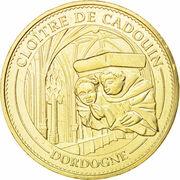 Jeton touristique - Monnaie de Paris - Le Buisson de Cadouin - le Cloître – obverse
