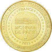 Jeton touristique - Monnaie de Paris - Le Buisson de Cadouin - le Cloître – reverse