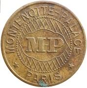 Bon pour une Audition - Montenotte Palace - Paris [75] – obverse