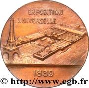 Médaille Exposition universelle – reverse