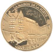 Jeton touristique - Souvenir et Patrimoine - Sarlat la Canéda - La maison de La Boétie – obverse