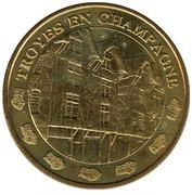 Jeton touristique - Monnaie de Paris - Troyes en Champagne – obverse