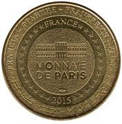 Jeton touristique - Monnaie de Paris - Troyes en Champagne – reverse