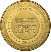 Jeton Touristique - Monnaie de Paris - Avioth - Basilique Notre-Dame – reverse
