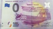 0 euro - Bénouville - Pegasus bridge – obverse