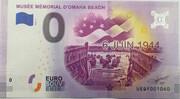 0 euro - Musée Mémorial D'Omaha Beach – obverse