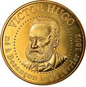 Jeton Touristique - Monnaie de Paris - Besançon - Victor Hugo – obverse