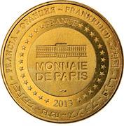 Jeton Touristique - Monnaie de Paris - Besançon - Victor Hugo – reverse