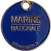 Shopping Cart Token - Marine Nationale – obverse